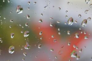 ガラスについた水滴