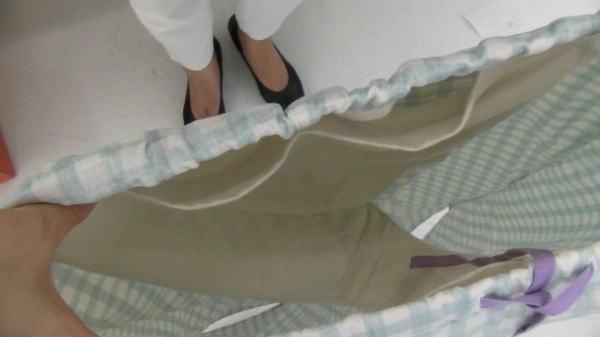 脱パンツパジャマの中