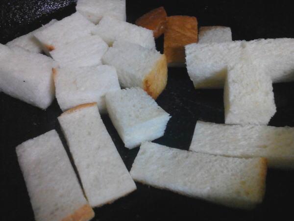 冷凍していたパン