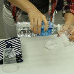 汗取りインナー「サラリスト」の大汗実験、脇汗ガードの実力を見てきました